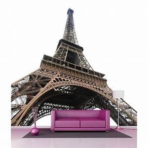 Tour Eiffel Deco : papier peint g ant d co tour eiffel 250x250cm stickers autocollants ~ Teatrodelosmanantiales.com Idées de Décoration