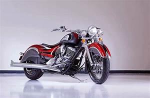 Racing Caf U00e8  Indian Big Chief Custom 2014