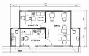 Simple Modern Office Floor Plans Placement - Building ...
