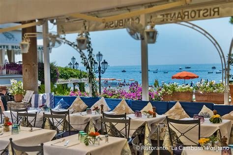 best restaurants positano golden palate italia partner la cambusa positano a 50