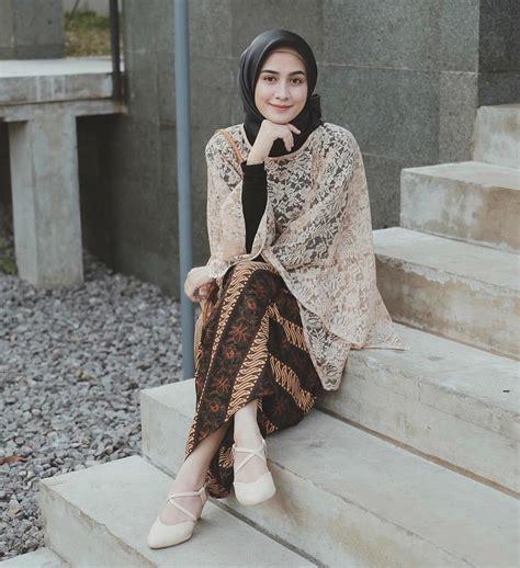 lho pilihan atasan brokat hijab kekinian    digandrungi anak muda muslim