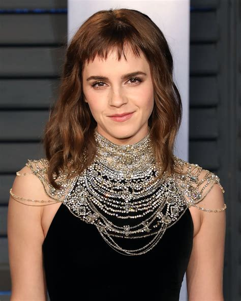 Emma Watson Hair The Oscar Awards Popsugar Beauty