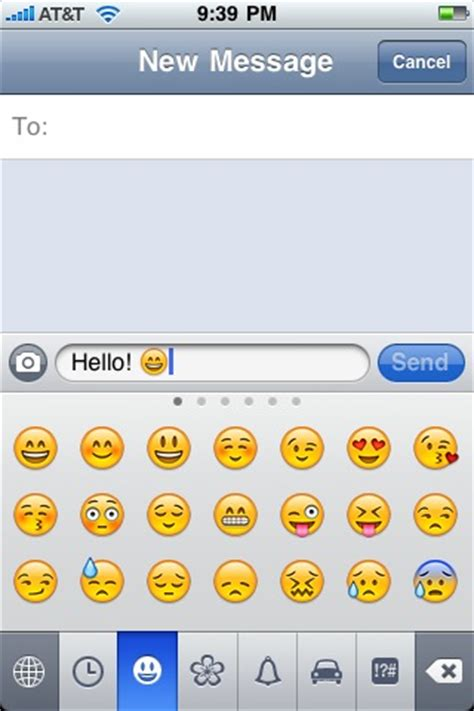 how to enable texting with emoticons on the iphone iphone tricks rebeccanicholeratliff