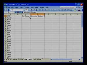 Add Function In Excel Summary Table In Excel Youtube
