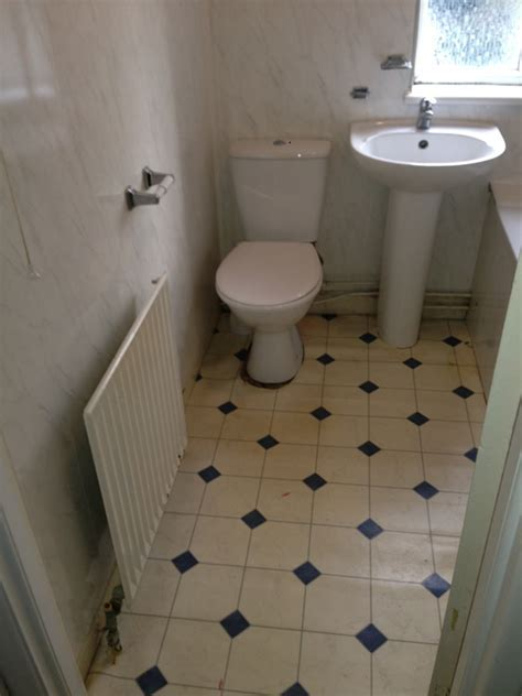 This bathroom installation took place in Holbrooks Coventry.