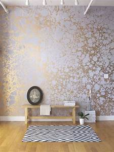 Papier peint 10 idees deco tendance hellocasafr for Kitchen cabinets lowes with papier peint 4 mur