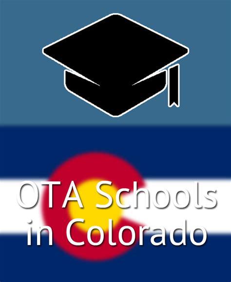 ota schools  colorado   occupational therapy