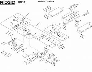 Ridgid Table Saw Parts Diagram  U2022 Downloaddescargar Com