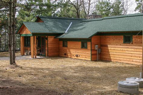 lake cabin rustic lake cabin new construction near spooner wi