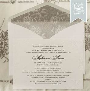 the little paper pantry wedding invitations sydney with With wedding invitation paper sydney
