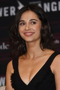NAOMI SCOTT at Power Rangers Press Conference in Mexico ...