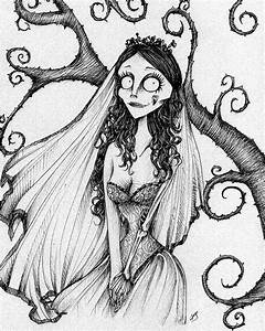 """art work"" by tim burton | Fan Art Corpse Bride - Tim ..."