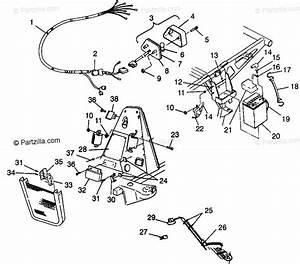 Polaris Atv 1999 Oem Parts Diagram For Electrical