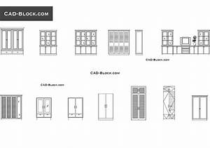 Cupboard CAD block download