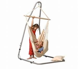 Support Chaise Hamac : hamac chaise large brasil natura avec support luna ~ Melissatoandfro.com Idées de Décoration
