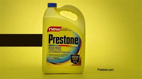 Prestone 50/50 Prediluted Antifreeze Coolant Tv Commercial