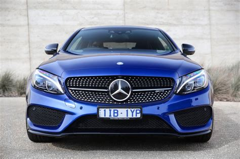 mercedes c43 amg mercedes amg c43 coupe driven mercedes amg c43 coupe muscles in goauto