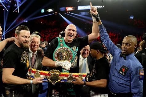 Tyson Fury Dedicates Victory Over To God - PraiseHouseTV