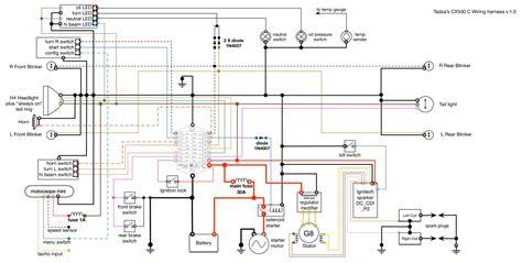 m unit wiring diagram for cdi 1980 cx500