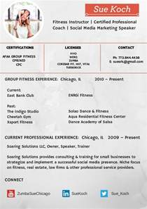 How To Write A Fitness Instructor Resume by Sue Koch Fitness Resume