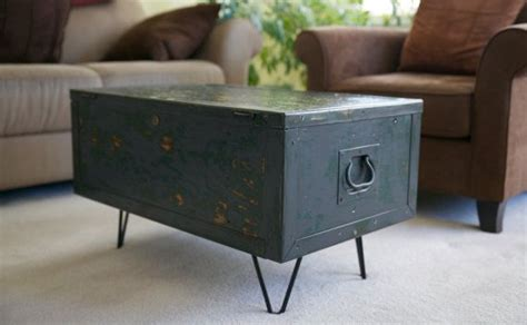 Small Coffee Table On Hairpin Legs