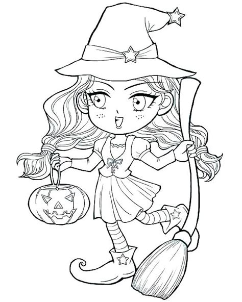 witch face coloring pages  getcoloringscom