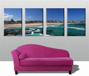 Bondi 4 Panel - Canvas Prints Australia