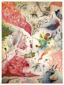 Fantastical swirls of strange hybrid creatures fill vorja for New vorja sanchez fantastical illustrations