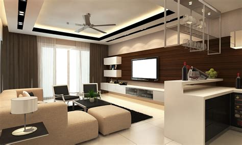 Lighting Ideas For Kitchen Ceiling - modern living room with plaster ceiling