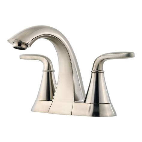 home depot bathroom faucet pfister pasadena 4 inch centreset bathroom faucet in