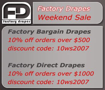 factory bargain drapes factory bargain drapes launches new low cost drapery