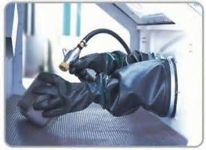 replacement gloves for sand blasting cabinet shot blast