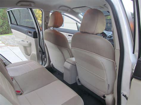 Subaru Xv Crosstrek Front And Rear Mix Leatherette