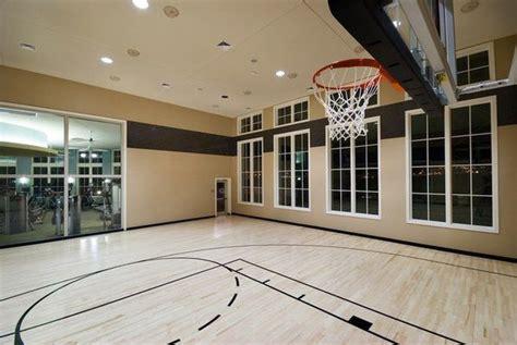 basketball court  house indoor basketball