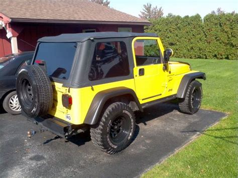 sell   jeep wrangler tj  sport   holland