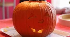 Comment Faire Une Citrouille Pour Halloween : comment faire une lanterne citrouille d 39 halloween ma p 39 tite cuisine ~ Voncanada.com Idées de Décoration