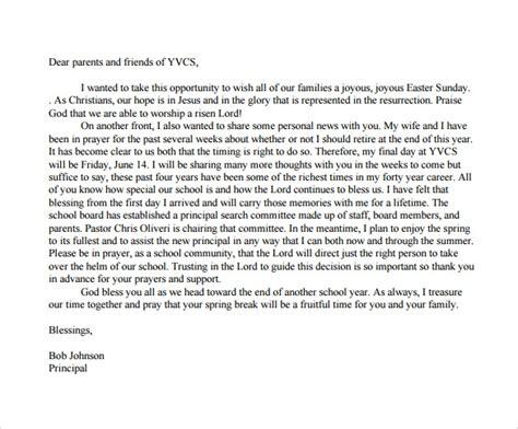 retirement letter    documents   word