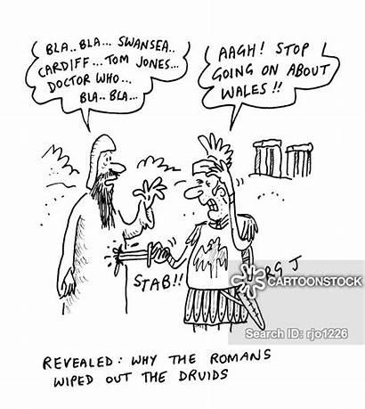 Welsh Tiberius Xenophobia Claudius Cardiff Cartoon Cartoons