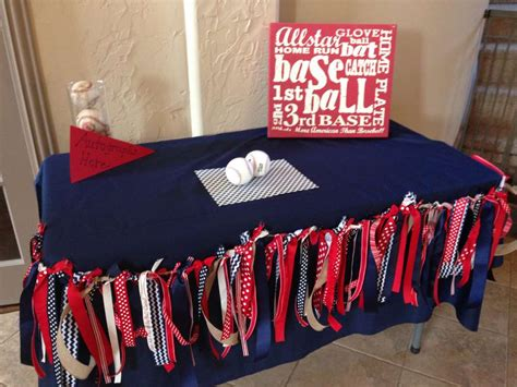 Vintage Baseball Baby Shower Party Ideas  Photo 6 Of 14