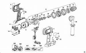 Dewalt Hammer Drill Parts Diagram  U2022 Downloaddescargar Com