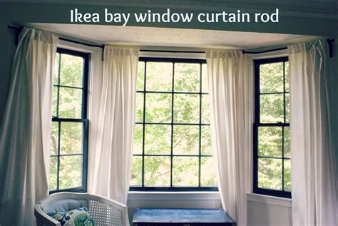 curtains curtain rods for bay windows decor bay window rods curtain rods for corner windows best curtain rods for bay windows homesfeed