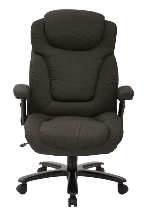 pro line ii big and deluxe high back fabric executive