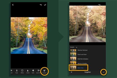 fotobearbeitung fuer instagram mit der lightroom app