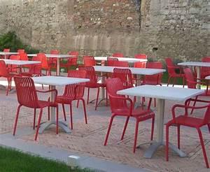 Mobilier De Terrasse : mobilier terrasse bar mobilier restaurant bar terrasse pinterest tables de bar bar et design ~ Teatrodelosmanantiales.com Idées de Décoration
