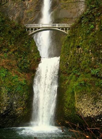 Multnomah Falls Perfect Gifs Oregon Cool Very