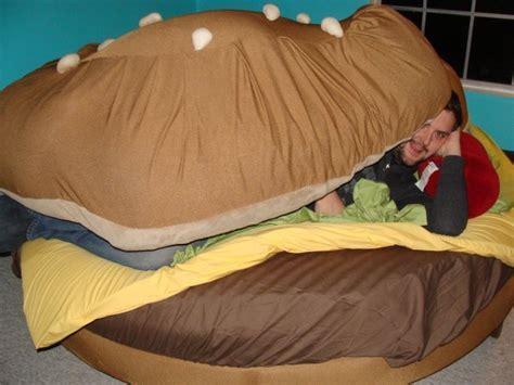 burger bed cheeseburger bed