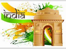 India Gate Vector Download Free Vector Art, Stock