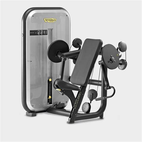 easy cleaning services element bicep arm curl machine technogym