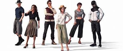 Cloth Street Character Creator Clothing Base Pack