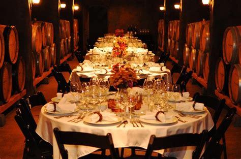 elegant wine paired plated dinner